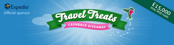 Travel treats banner