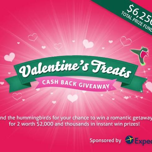 TopCashback Valentine Treatsキャンペーン