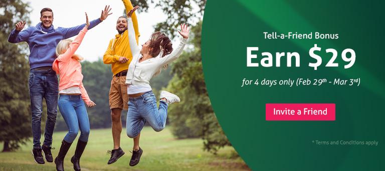 Tell-a-friend leap year