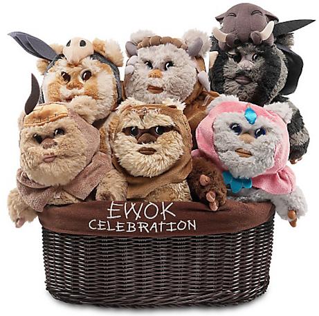 Star Wars (スターウォーズ)関連グッズ紹介 Ewok Plush Set
